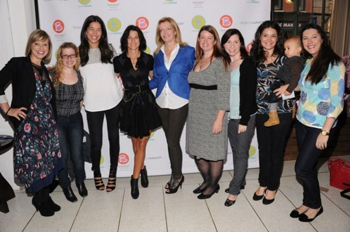 Jill Seiman, Jessica Seinfeld, Kathryn From, Rebecca Minkoff for Bravado Designs to Benefit Jessica Seinfelds Baby Buggy
