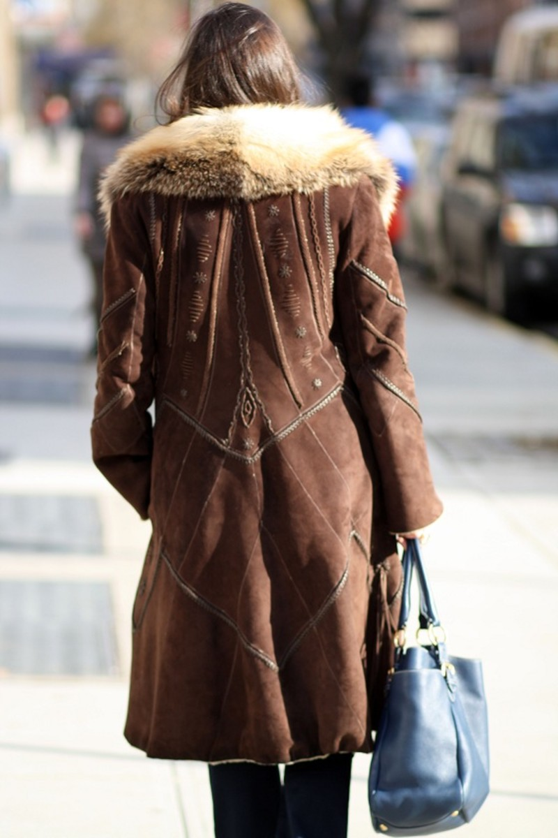 Shearling from Behind