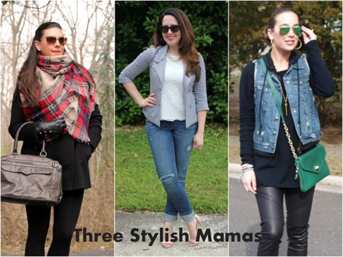 Three Stylish Mamas