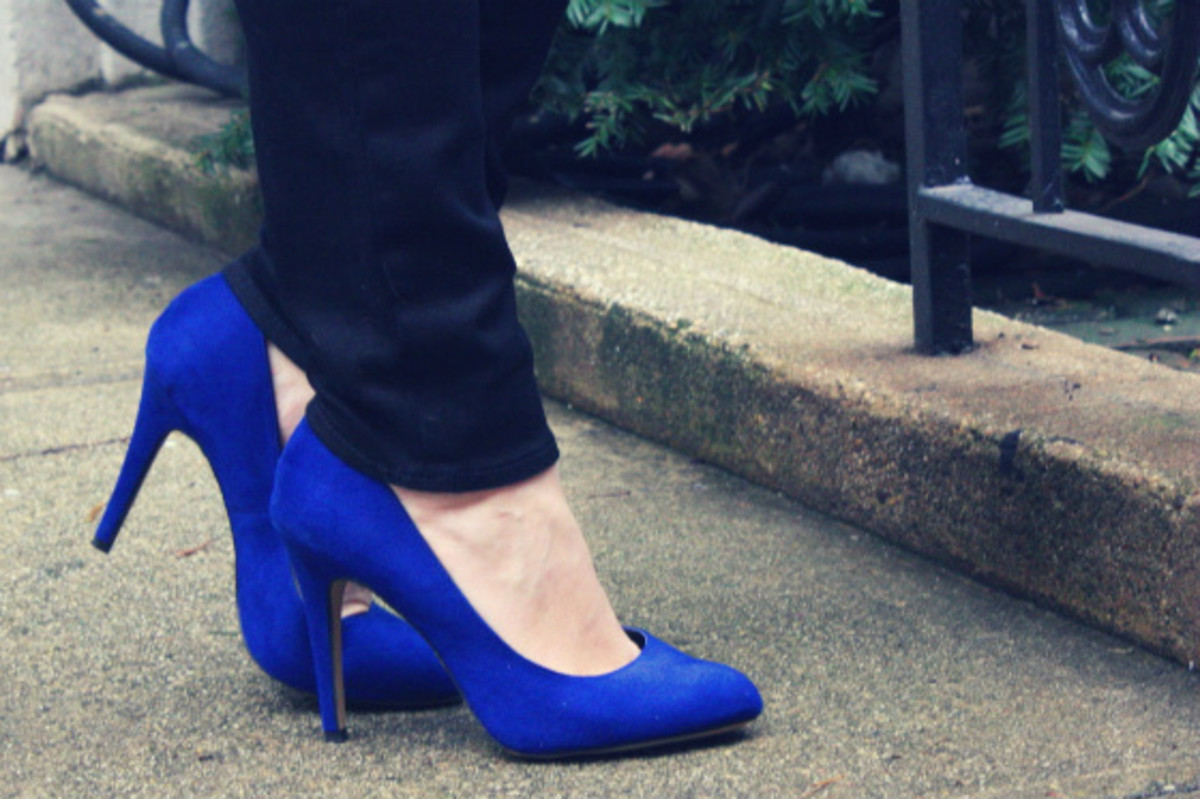Rock & Republic Blue High Heels