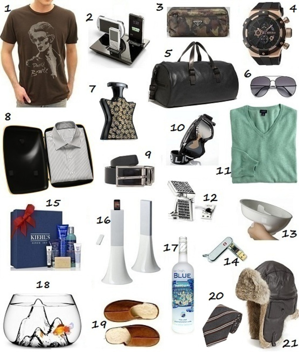 Glamamom's Holiday 2011 Glam Gift Ideas for Him
