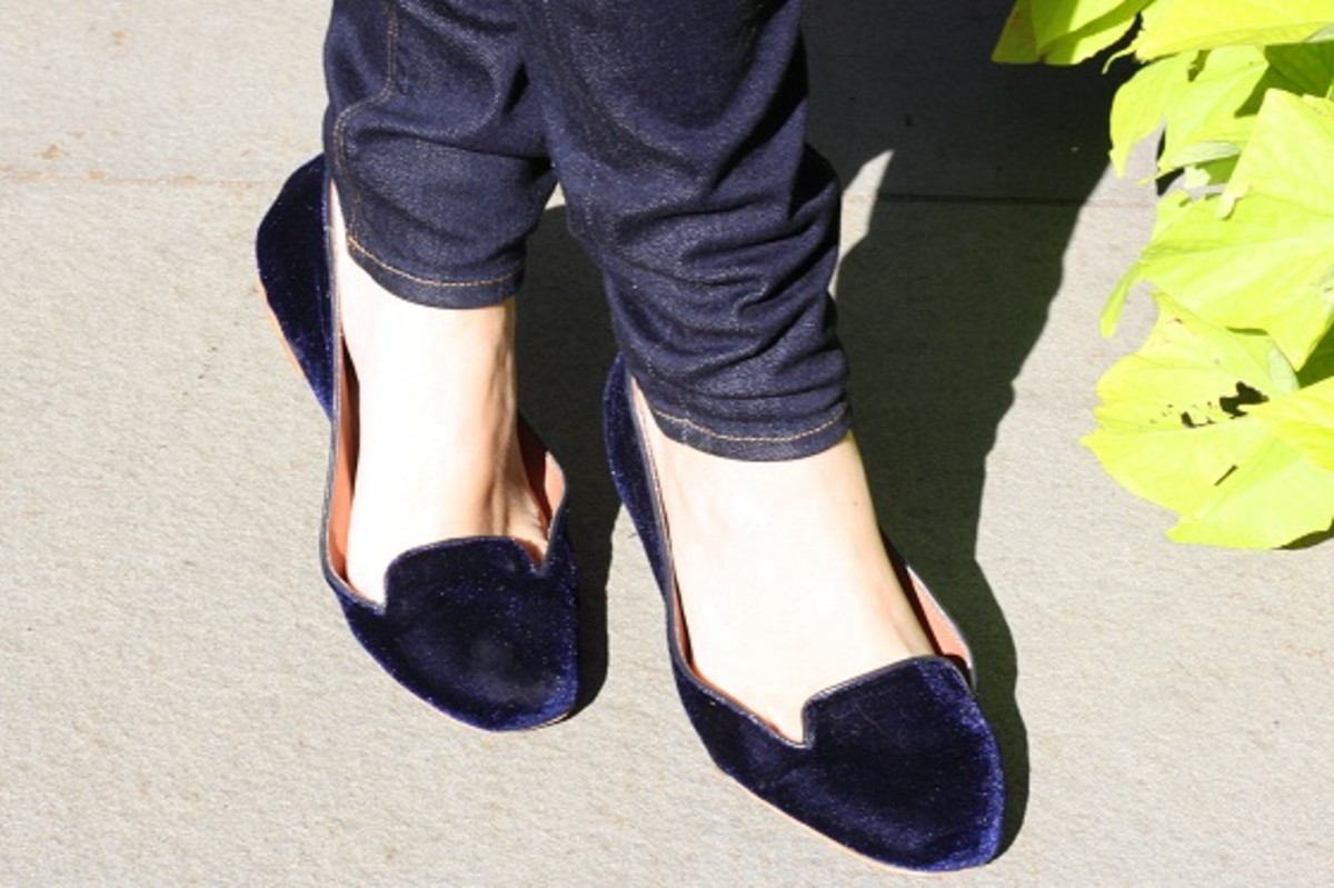Zara Smoking Flats