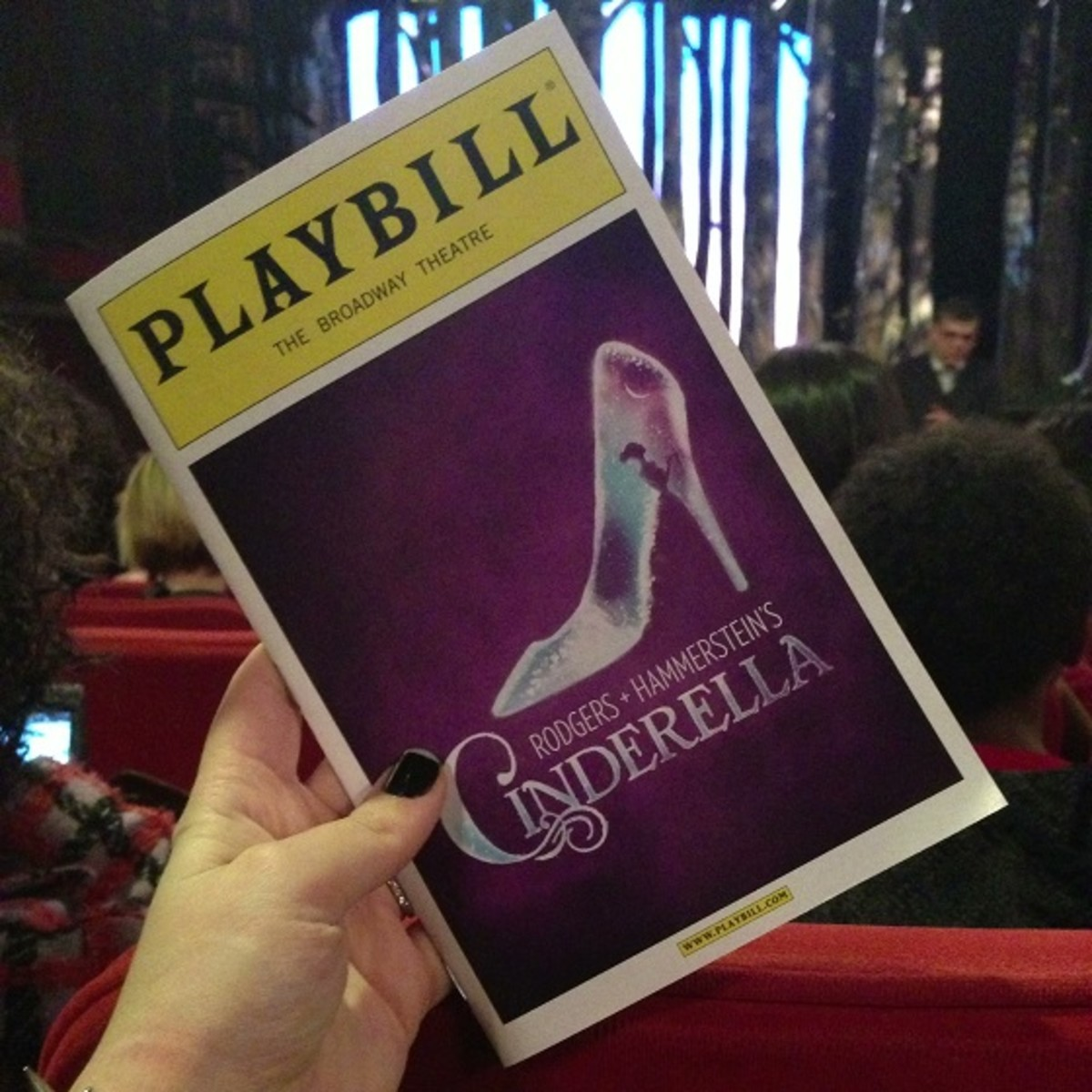 Playbill R+H Cinderella on Broadway