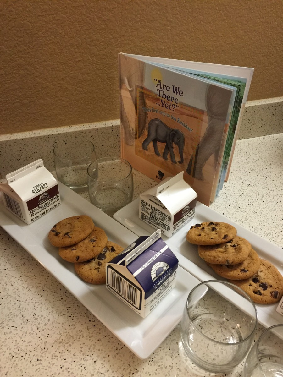 Milk & Cookies at Kalahari