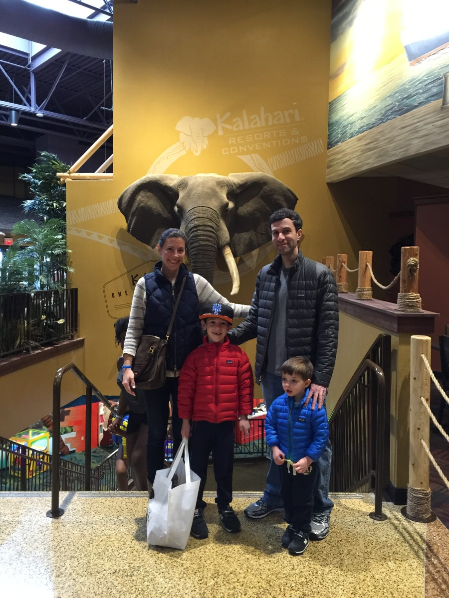 Family at Kalahari