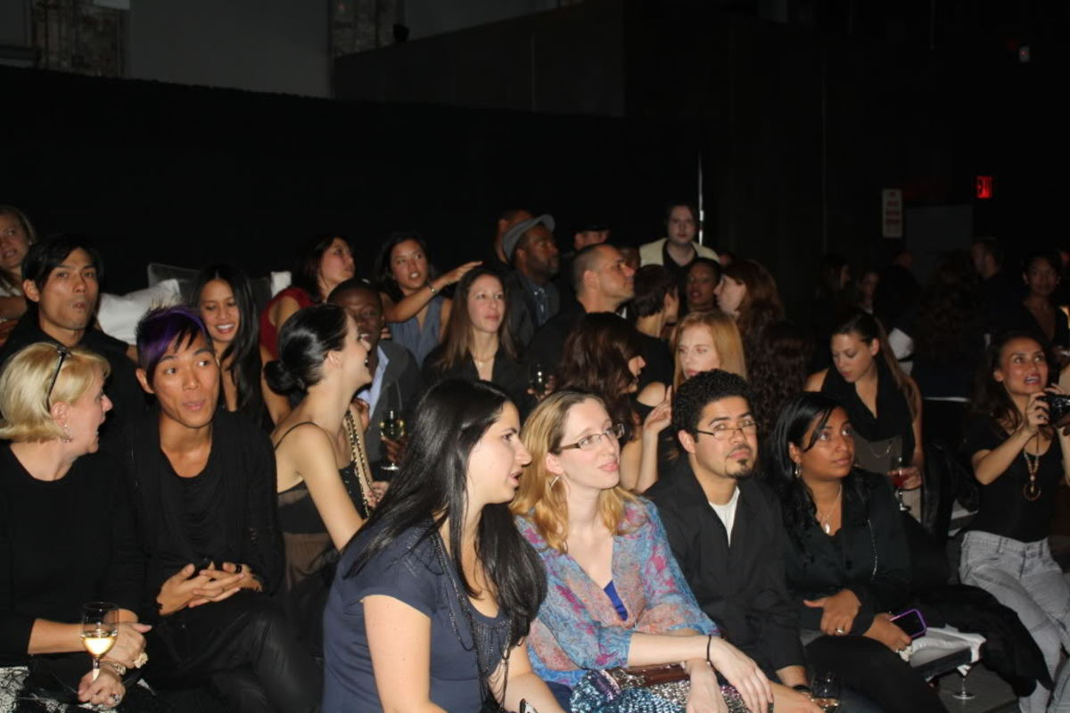 Guests were treated to a private screening of Project Runway