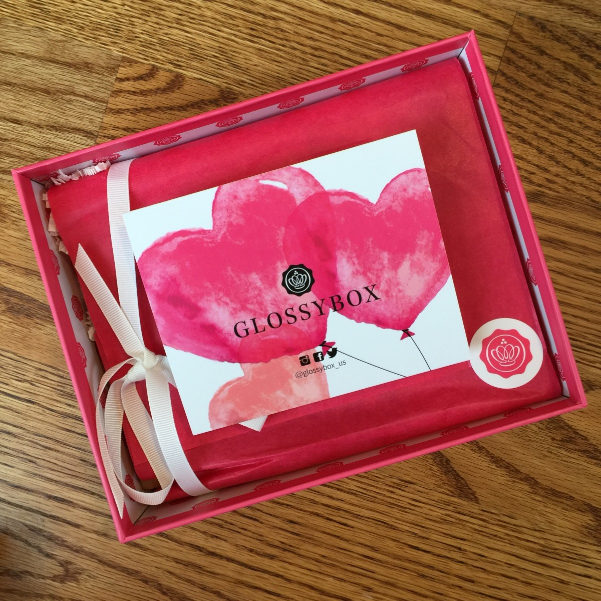 Glossybox beauty subscription