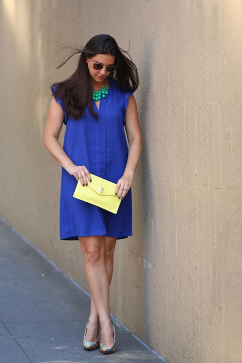 Cobalt H&M Dress