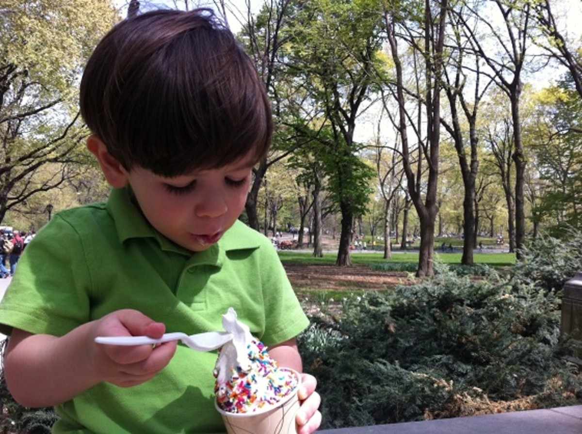 Ice Cream in Central Park