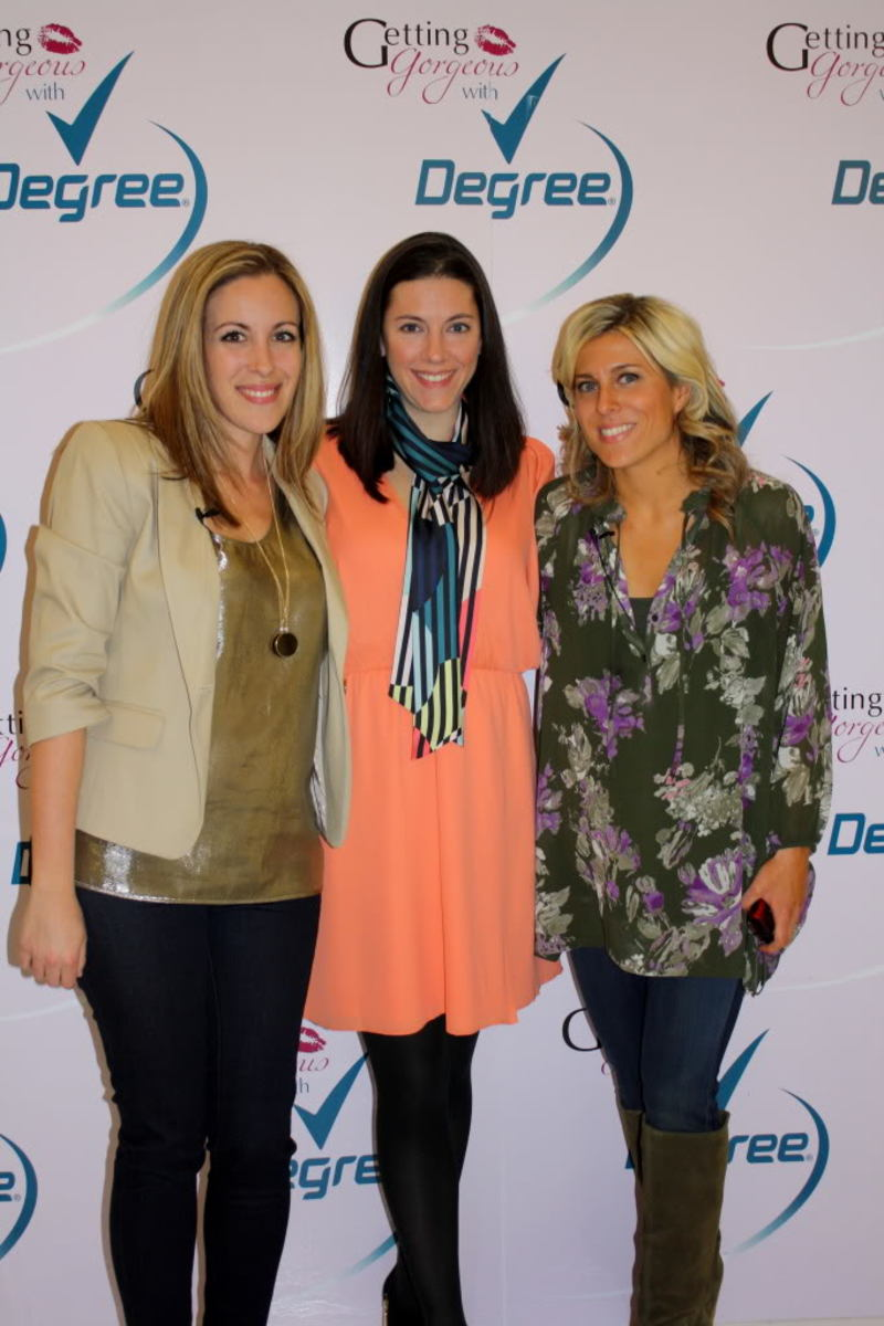 Vera Sweeney, Jill Seiman, Audrey McClelland at Getting Gorgeous 2011