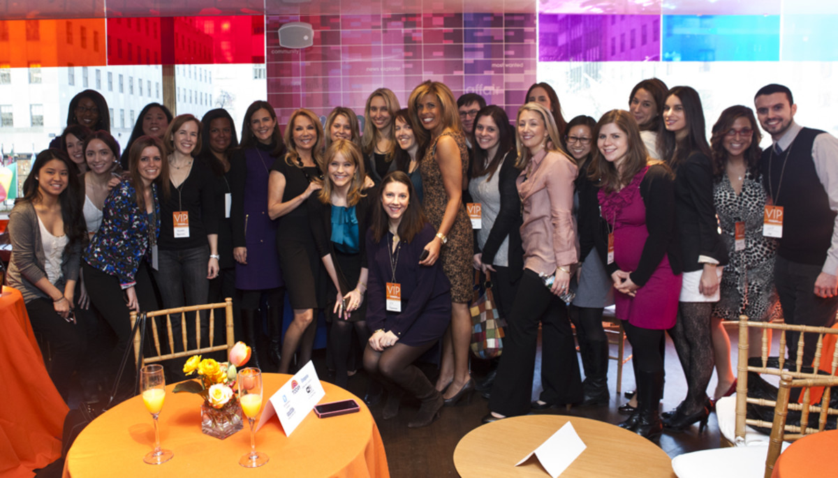 Kathie Lee Gifford, Hoda Kotb, Jill Seiman, Nicole Feliciano, Sarah Haines, Mary Fischer Today.com Launch