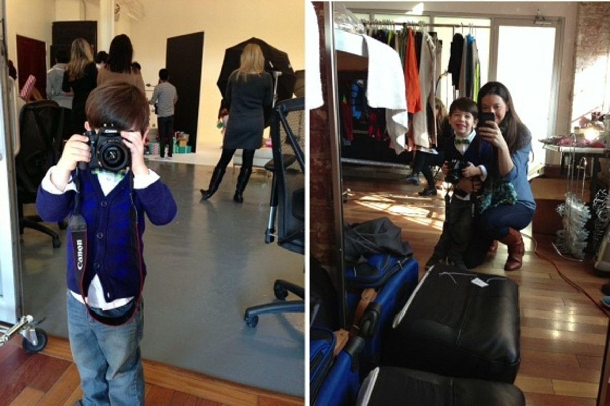 Behind the Scenes Target Kids Holiday 2012