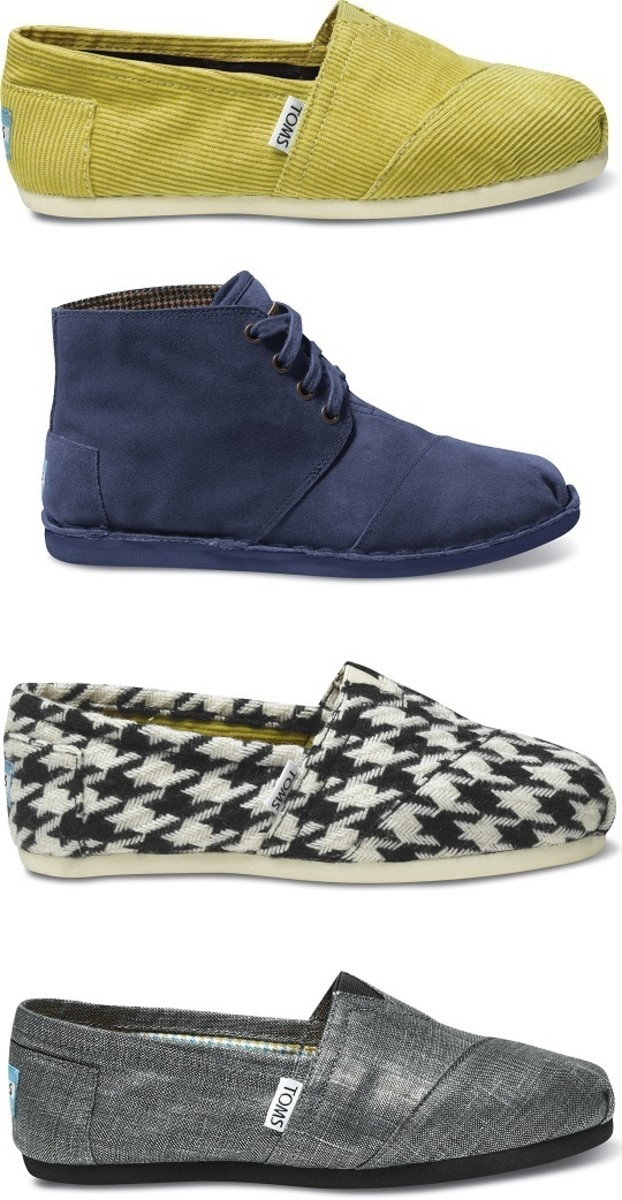 TOMS Womens Fall 2011 Shoes