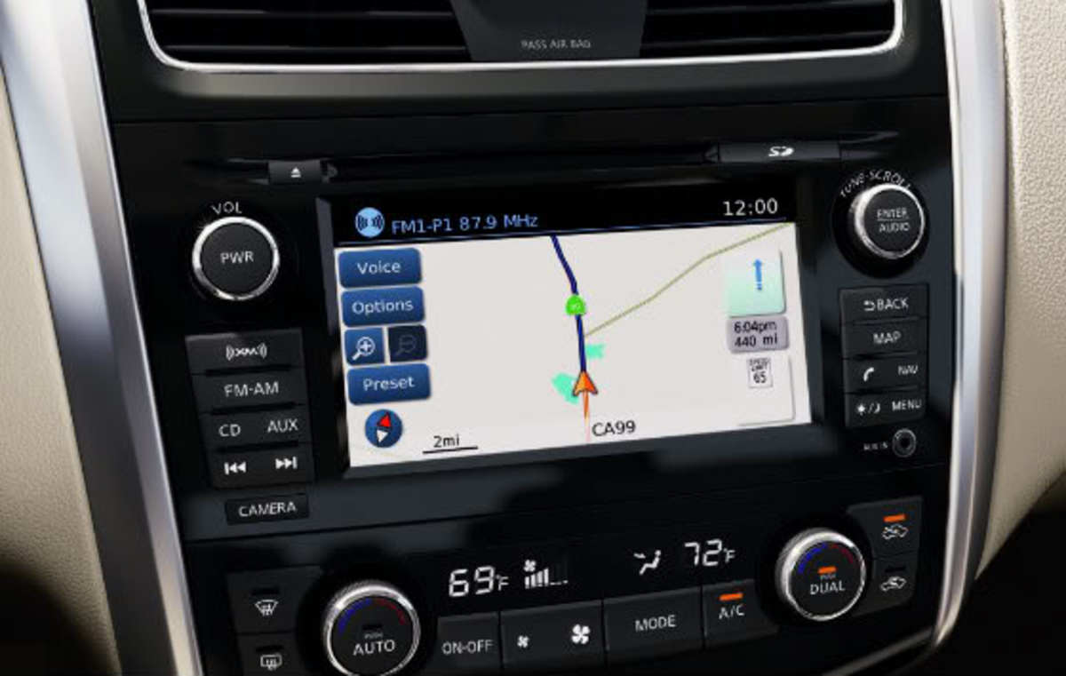 2013 Altima Sedan Navigation System