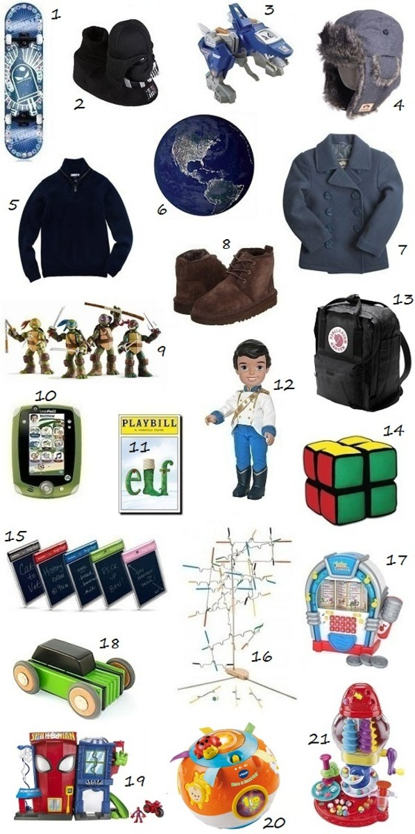 Gift Ideas for Boys 2012