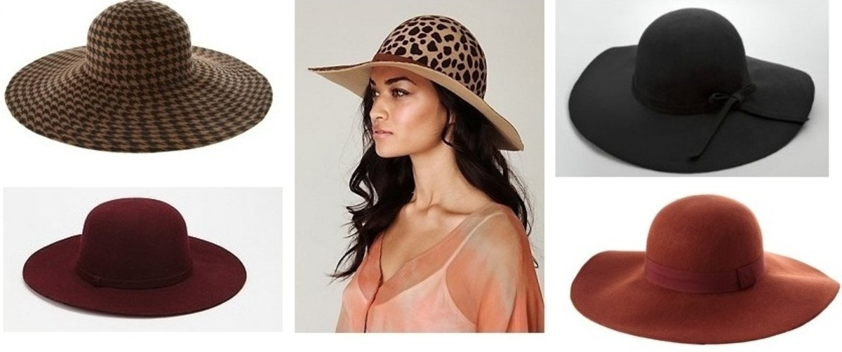 Glamamom's Floppy Felt Hat Picks