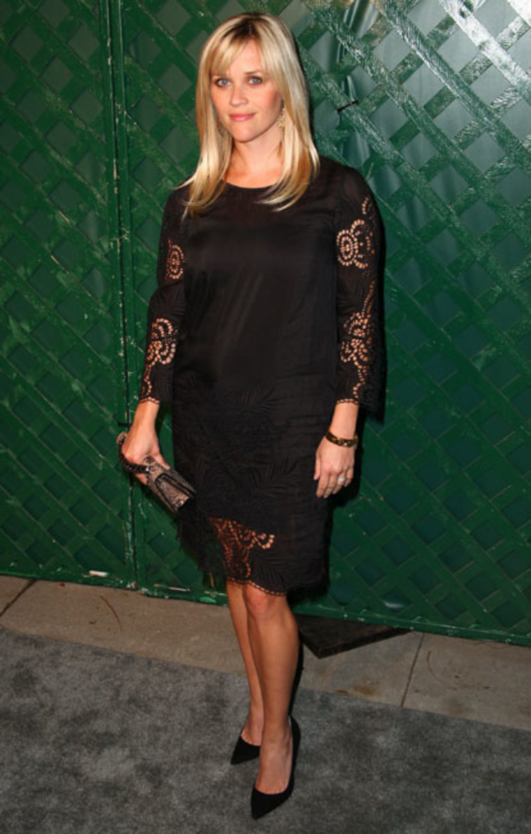 Reese Witherspoon in Stella McCartney at the My Valentine Premier