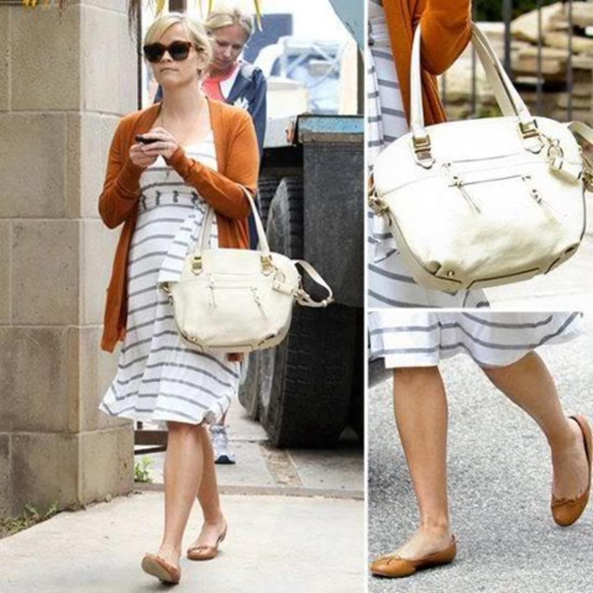 Reese Witherspoon in Rosie Pope Maternity