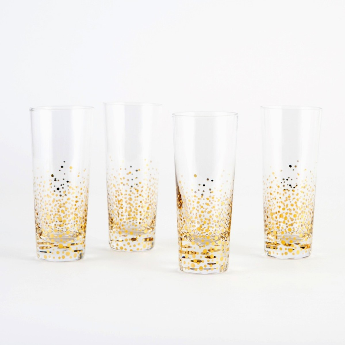 gifts for glam goddesses gold leaf cocktail glasses