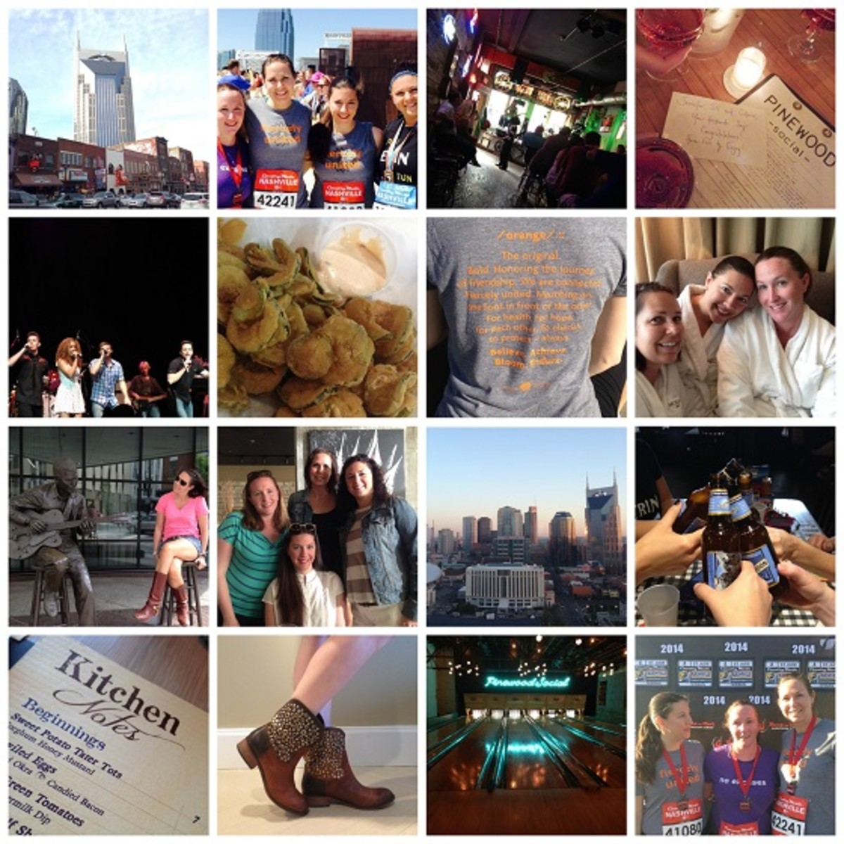 Nashville Collage