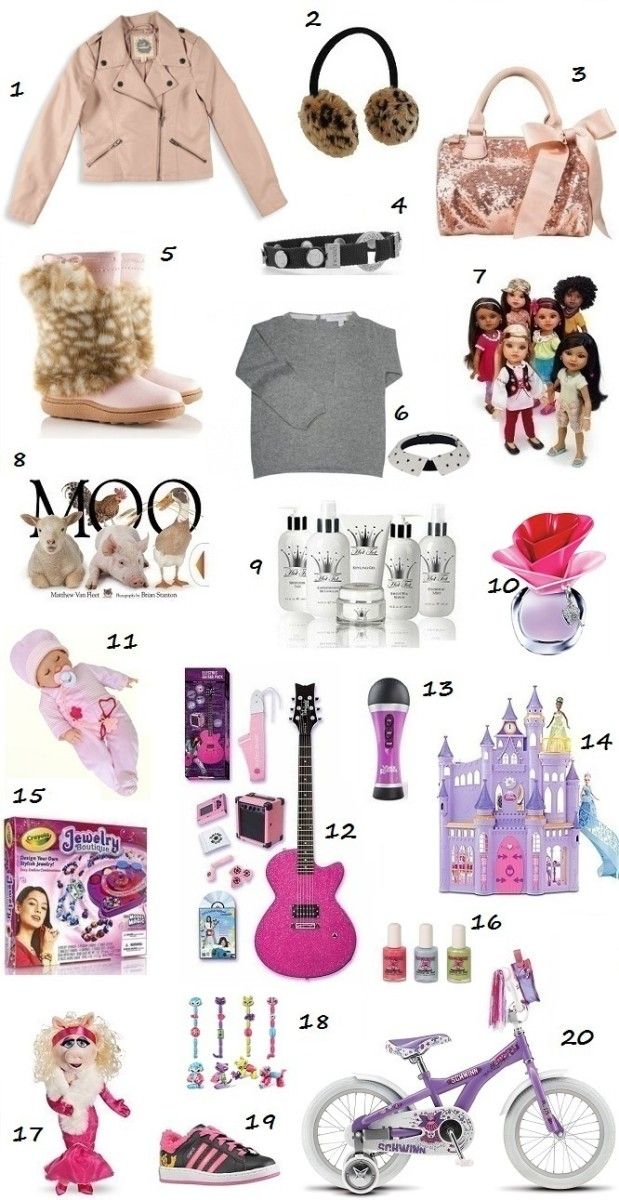 Glamamom Holiday 2011 Glam Gift Ideas for Girls