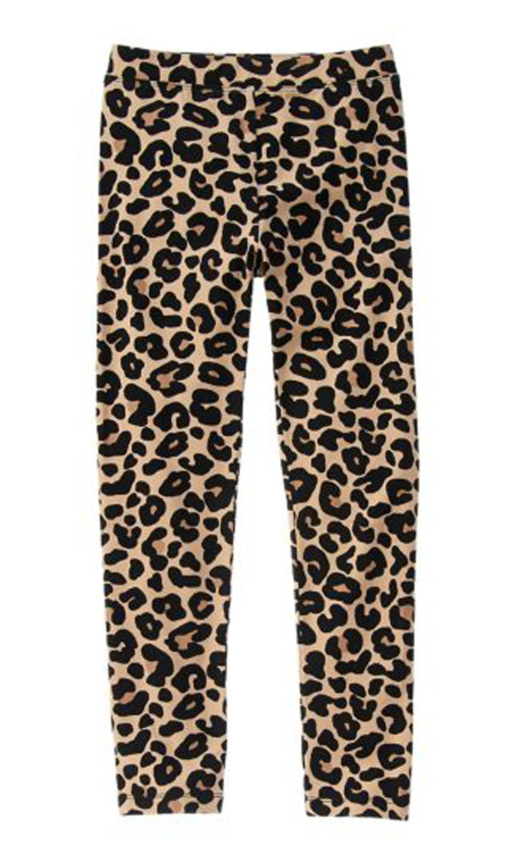 Gymboree leopard print leggings