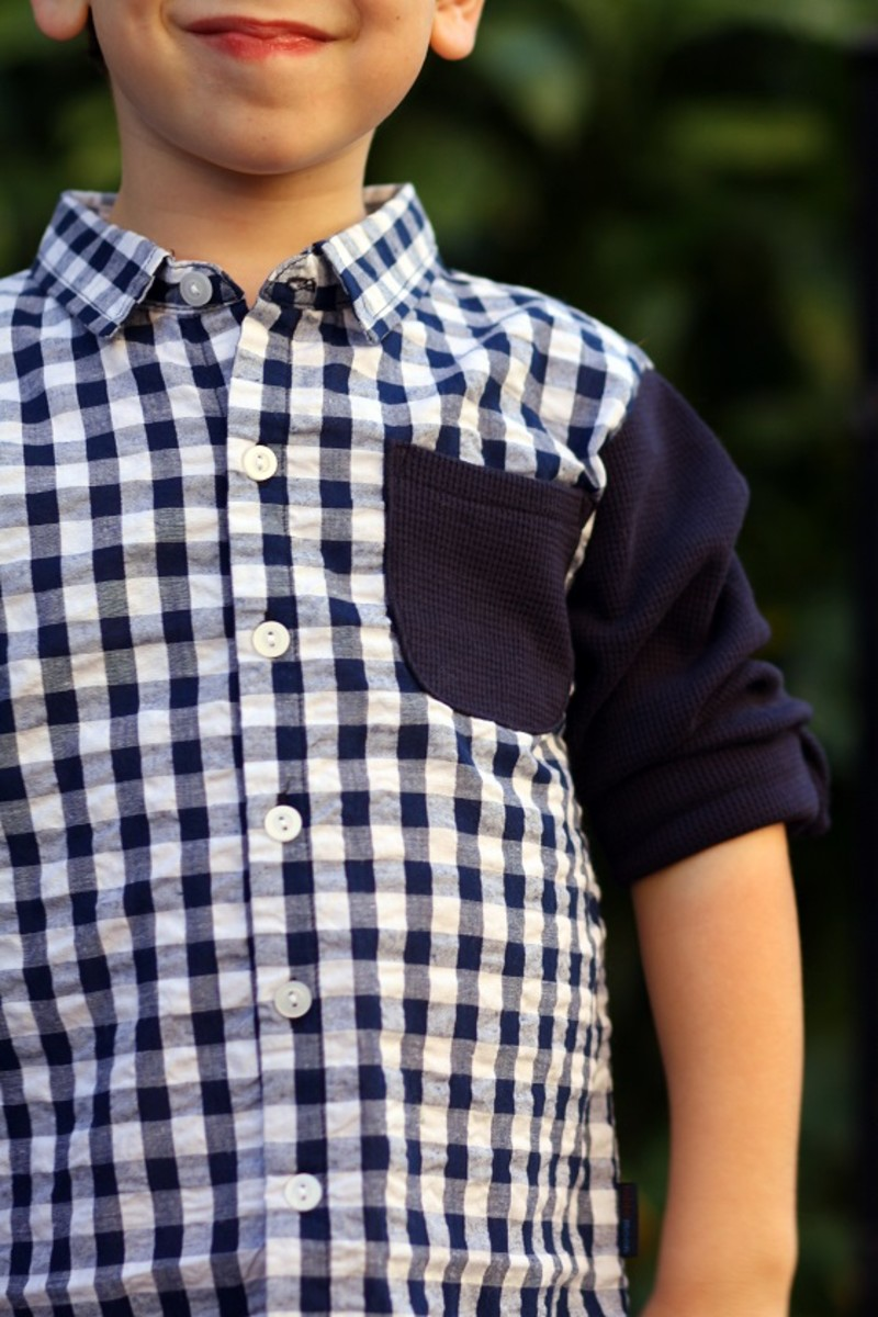 Rabbitmoon Check Woven Shirt
