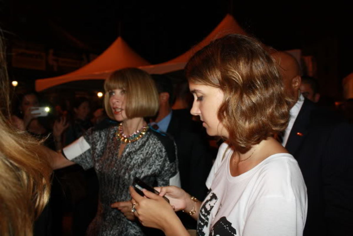 Anna Wintour Fashion's Night Out 2011