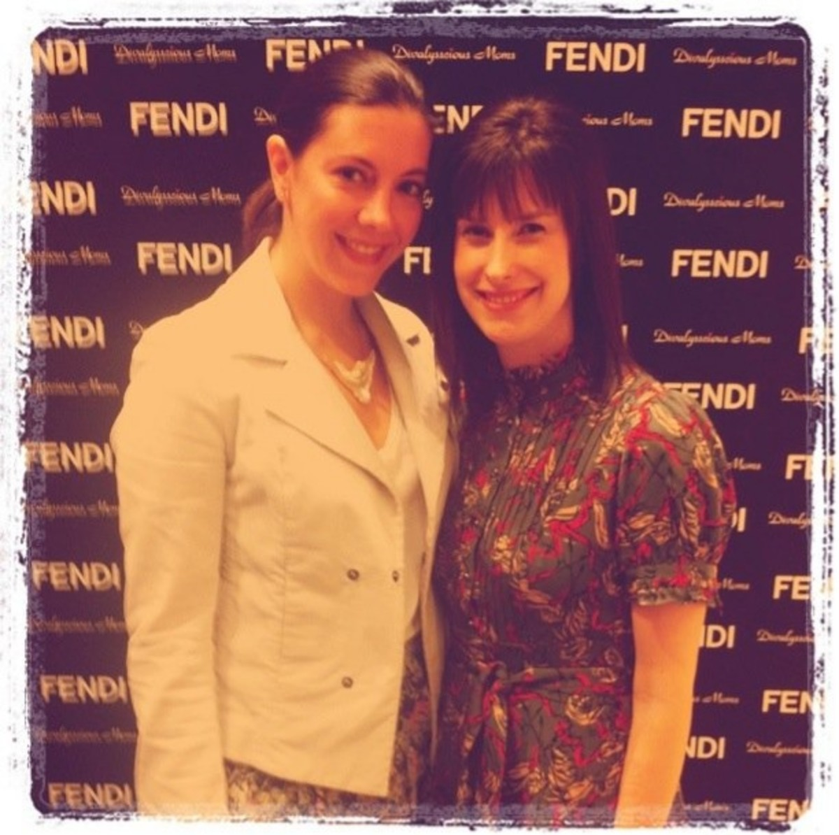 Jill Seiman & Andrea Stanley at Fendi Kids SS 2011 Collection Debut