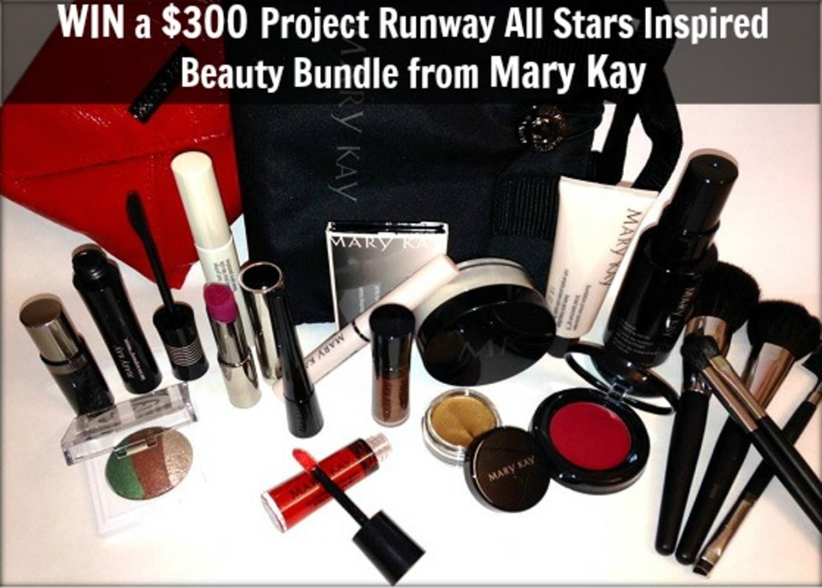 Mary Kay Glamamom Project Runway Giveaway