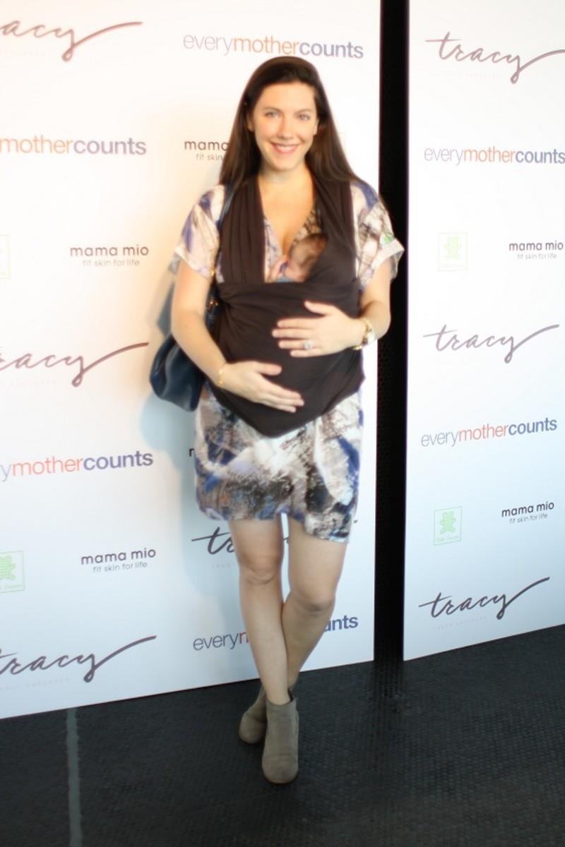 Jill Seiman, The Pregnancy Project Launch, NYC
