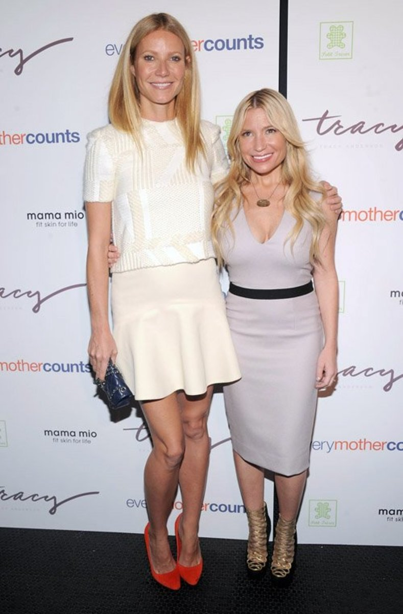 Gwyneth Paltrow & Tracy Anderson, The Pregnancy Project Launch