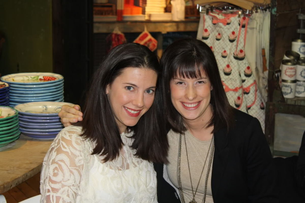 Andrea Stanley & Jill Seiman Anthropologie SoHo Spring 2011 Private Fashion Show