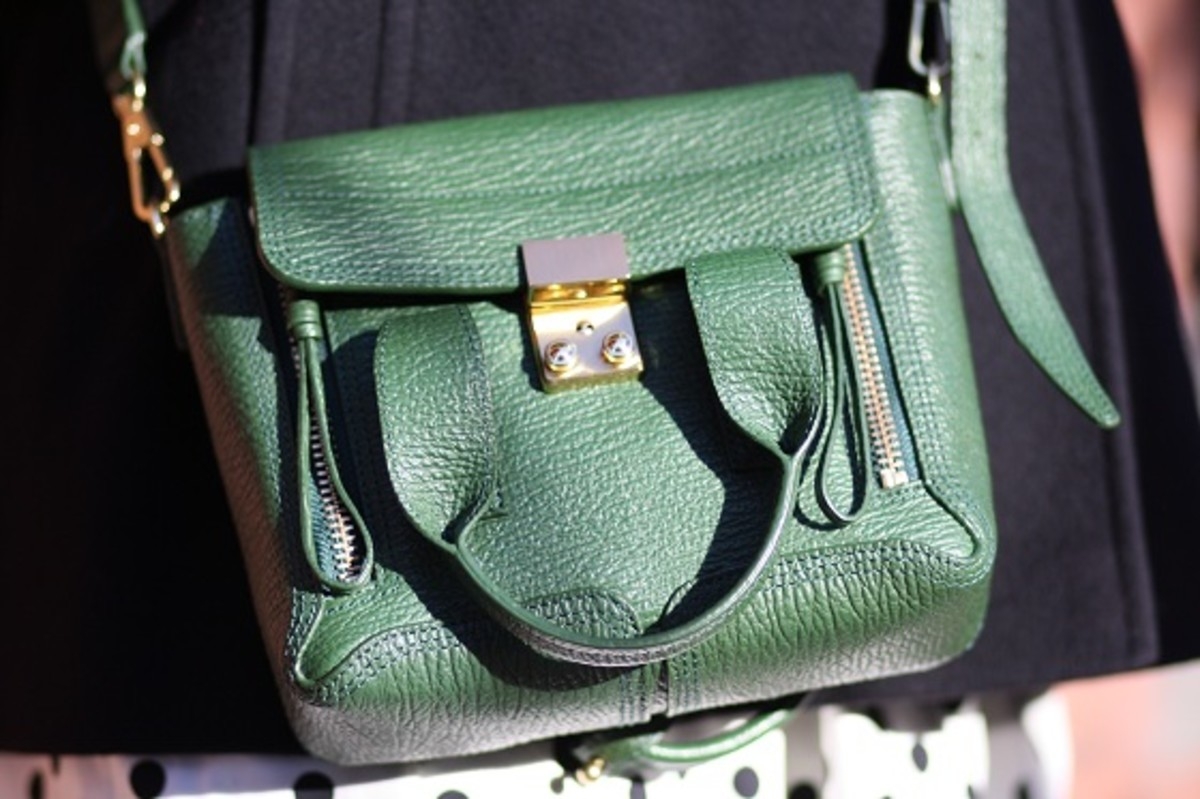 Phillip Lim Mini Satchel in Green