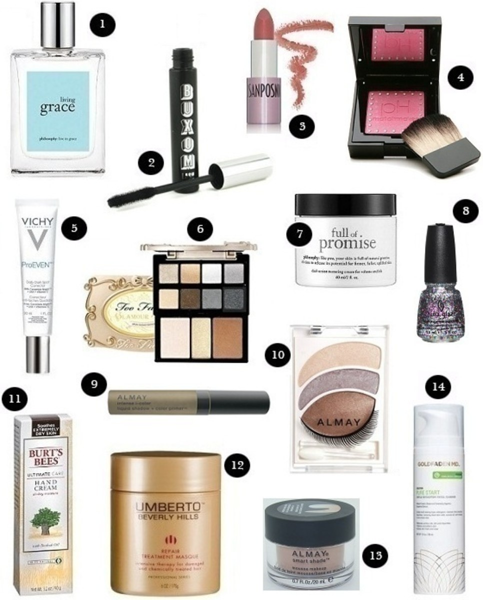 Glam Beauty Board Winter 2012 Beauty Reviews