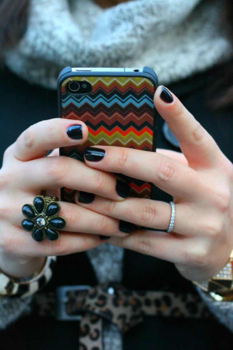 Missoni for Target iPhone Case