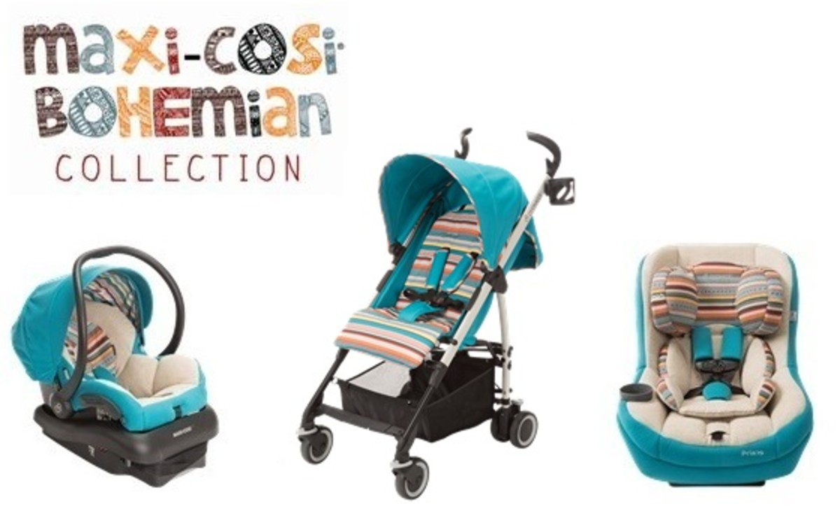 Maxi-Cosi Bohemian Blue Collection