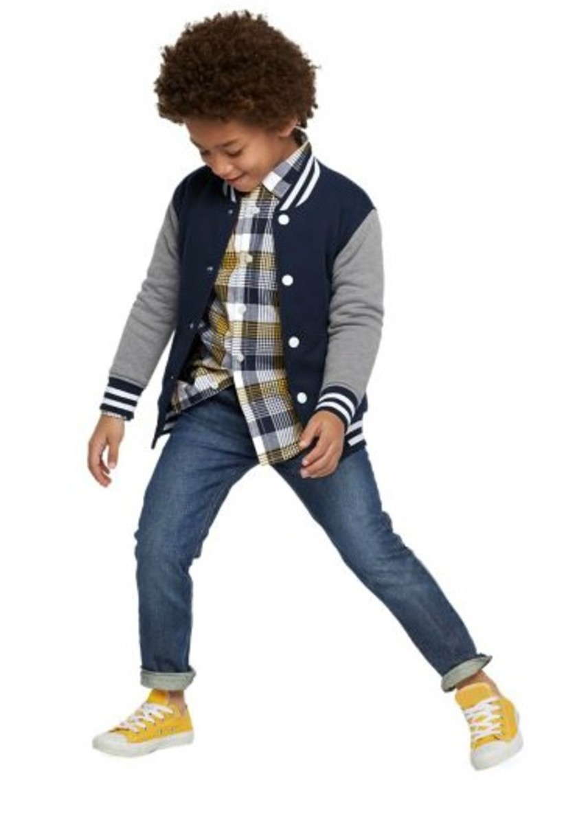 Gymboree varsity outfit
