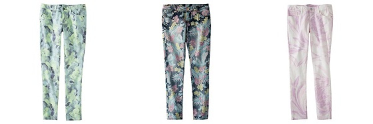 Floral Jeans Trend
