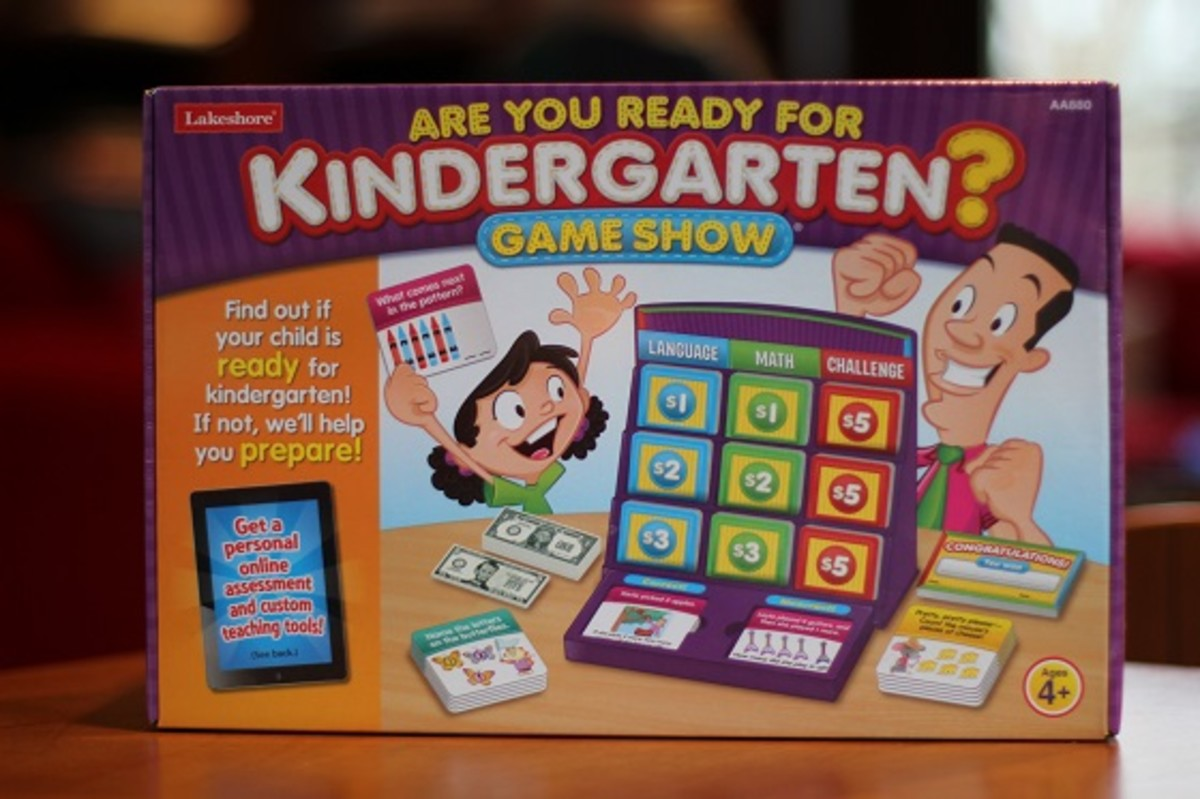 Are You Ready for Kindergarten Game Show