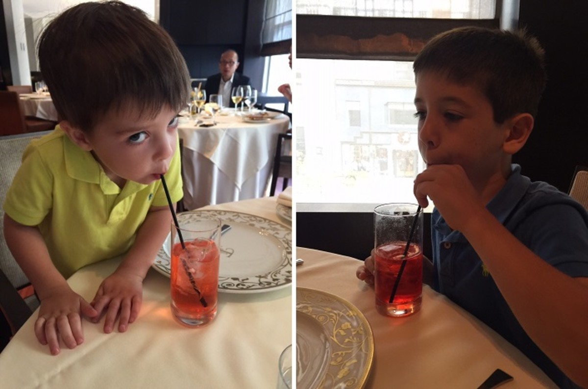 Kids Dining at Ai Fiori