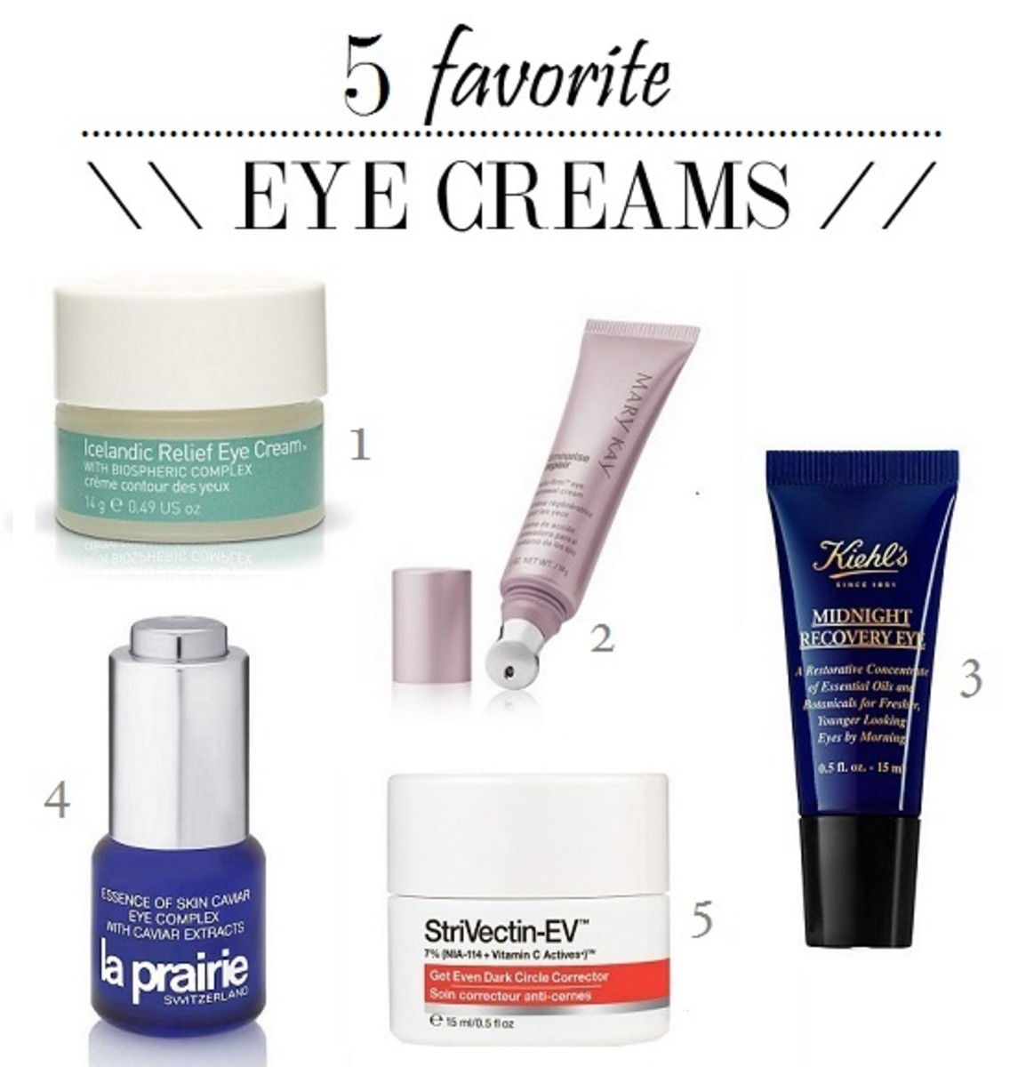 5 best eye creams