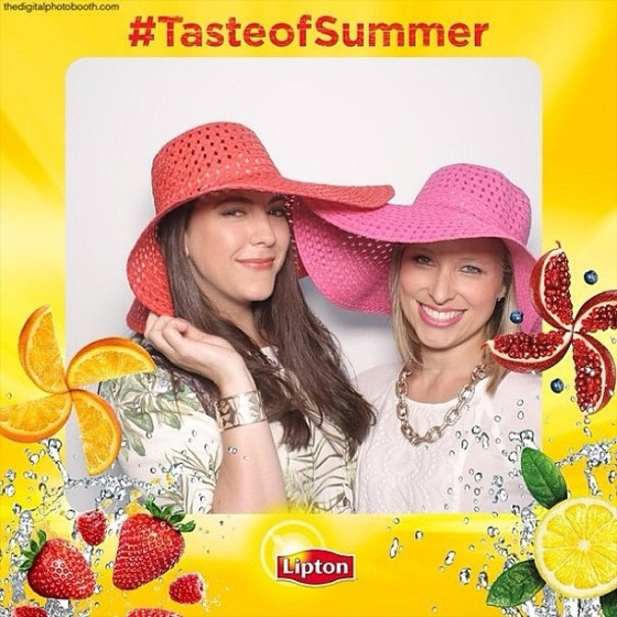 Jill Seiman & Lauren Jimeson, Lipton Sun, Lipton TASTE of Summer Party NYC