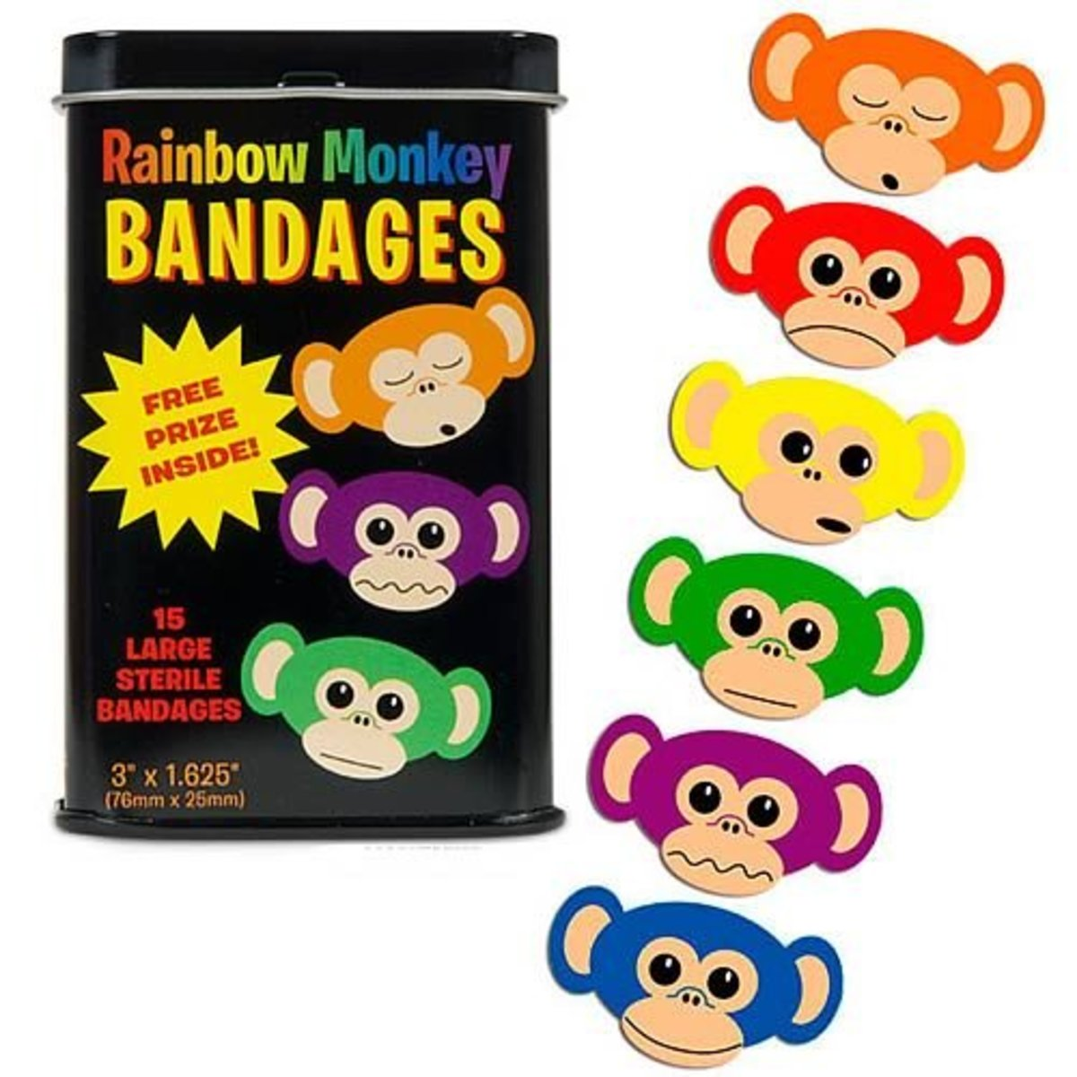awesome stocking stuffers monkey bandaids