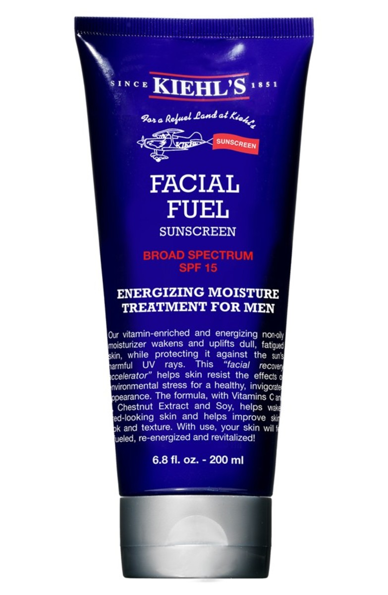 dapper dad gift guide Kiehl's facial fuel