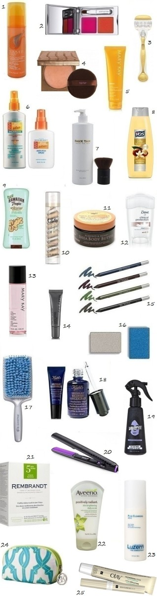 Summer's Best Beauty Products 2012