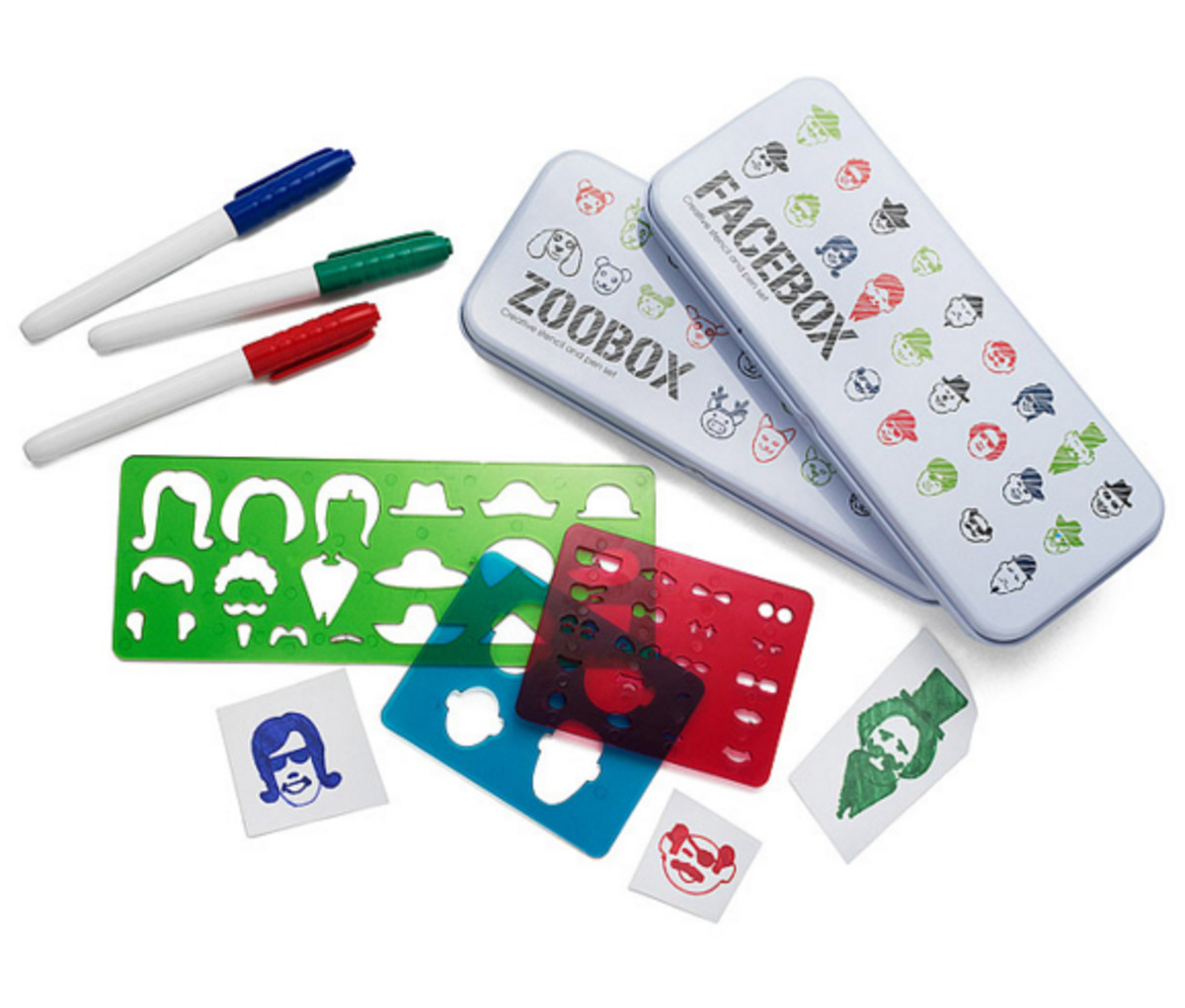 awesome stocking stuffers stencil and pen kits