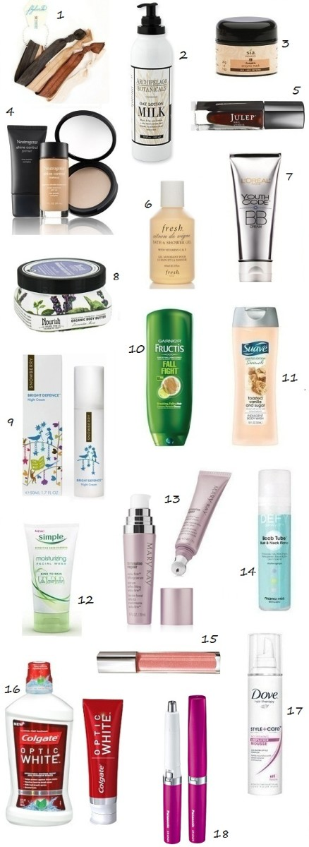 Glamamom's Fall/Winter Best Beauty Picks