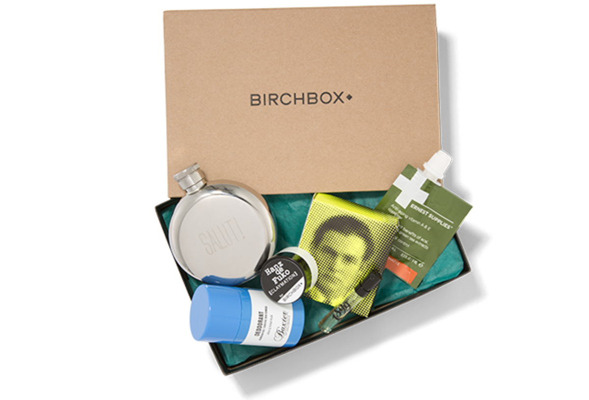 dapper dad gift guide Men's Birchbox subscription