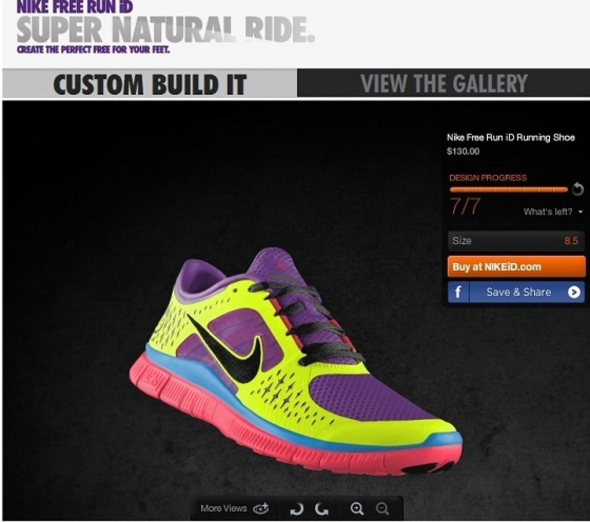 best cheap 3b640 2b1eb From the mesh, to the laces, to the swoosh, to the tongue, you can choose  from a fun range of colors from brights to neutrals, select the level of ...